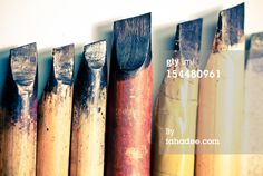 Stock Photo : Calligraphy Pens