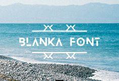 FREE Blanka Font By TheHungryJPEG