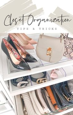 Take a First Look at My Brand New Closet Garage Organization Tips, Makeup Bag Organization, Affordable Home Decor, Affordable Fashion, Cheap Makeup Vanity, Feminine Decor, Closet Tour, Southern Style, Easy Diy Projects