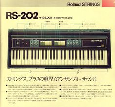 Roland RS-202 Strings (1976) #1970s #vintage #synth #synthesizer #retro