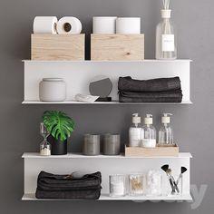 home accessories ikea models: Bathroom accessories - Botkyrka Bath Set Zen Bathroom, Bathroom Colors, Bathroom Sets, Bathroom Interior, Small Bathroom, Bathrooms, Toilet Storage, Ikea Storage, Bathroom Storage