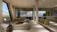 De jacht op het grootste en duurste penthouse van Nederland is geopend - ECONOMIE - PAROOL