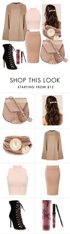 """""""🍁"""" by mercija ❤ liked on Polyvore featuring Yoki, Saachi, Ted Baker, WearAll and Kylie Cosmetics"""