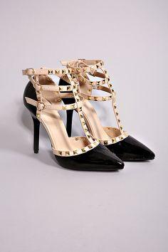 Show Stopper Black Heel
