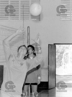 Leila, da seleção brasileira juvenil, durante o treino, AABB em São Paulo, para a disputa do Campeonato Mundial de 1991, na Tchecoslováquia 31-05-1991