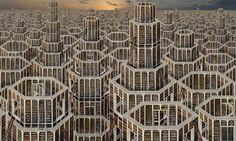 Bibliotheque Babel, 2013 180x300cm. JEAN-FRANCOIS RAUZIER