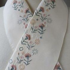 ペタコの販売中作品一覧   ハンドメイド通販・販売のCreema Creema, Floral Tie, Kimono, Embroidery, Accessories, Clothes, Outfits, Needlepoint, Clothing