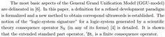 The GGU-model and Generation of Developmental Paradigms http://arxiv.org/pdf/math/0605120.pdf