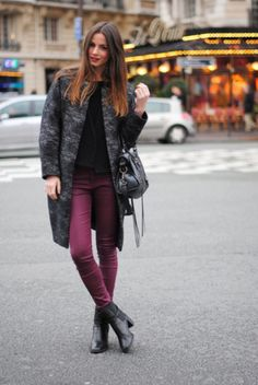 Cute outfit for those cold days.