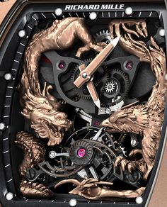 Watches For Men Luxury Richard Mille Produces Another Jackie Chan High-Luxury Watch With The RM Phoenix And Dragon Fancy Watches, Dream Watches, Expensive Watches, Stylish Watches, Luxury Watches For Men, Cool Watches, Men's Watches, Elegant Watches, Male Watches