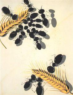 Salvador Dali >> Les fourmis, de 1936 à 1937