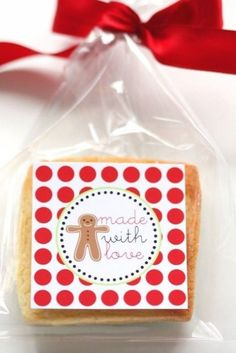 The TomKat Studio's Candy Christmas Printables Cookie Exchange Party, Christmas Cookie Exchange, Christmas Labels, Christmas Love, Christmas Goodies, Christmas Printables, All Things Christmas, Holiday Candy, Holiday Cookies