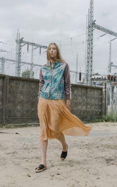 NARCISS S/S17 Elza Jacket, Elara Skirt www.narcissfashion.com #NARCISSfashion #spring #summer #trendalert  #ootd #styleinspiration #fashioninspo #jacket #skirt
