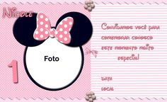 Convites Da Minnie Para Imprimir Rosa Wallpapers  Real Madrid Minnie Mouse, Real Madrid, Alice, Create Invitations, Personalized Invitations, Digital Invitations, Organizers