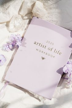 2020 Artist of Life Workbook – The Lavendaire Shop Diy Notebook, Notebook Design, Book Design Layout, Book Cover Design, Cute Wallpaper Backgrounds, Cute Wallpapers, Bookmark Printing, Ribbon Bookmarks, Good Notes