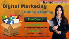 Digital Marketing TRAINING @ Training24x7online  http://www.training24x7online.com/courses/digitalmarketing-online-training.html  Reach us : +91 720 774 3377 / training24.hyd@gmail.com  #Training24x7online is an excellent #OnlinePortal.We are providing online training on #Digital #Marketing.Our #trainers have vast #experience in this field and they are highly qualified #Software #professional with dedication towards training for #DigitalMarketing.They also guide the students in a #realtime