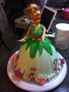 Kylie's Tinkerbell cake