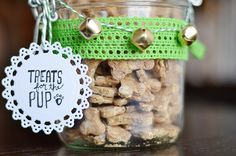 All your furry friend really needs is your love, but made-at-home biscuits never hurt. These crunchy treats also make great holiday gifts.