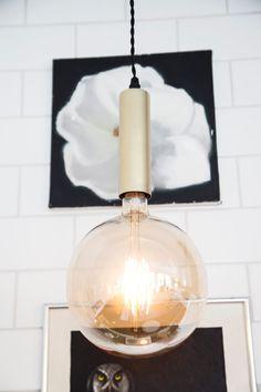 Brass metal pendant lamp Cordone  #sessakdesign #sessaklighting #sessak #lighting #sisustus #valaisin #new #newin #pöytävalaisin #interior #inredning #interior #Vintage #Modern #Minimalistic