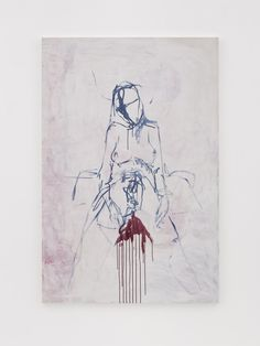 Tracy Emin - And So It Felt Like This 2018 Acrylic on canvas 72 x 48 in. x 122 cm) Tracey Emin Art, Gallery Of Modern Art, A Level Art, Witch Art, Cyberpunk Art, Feminist Art, Contemporary Paintings, Figurative Art, Traditional Art