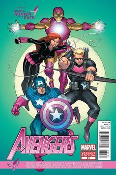 Marvel SuperHeroes goes pink.