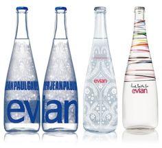 Jean Paul Gautier, Christian lacroix,Paul Smith pour Evian