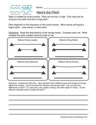 Mechanical Energy Worksheets 4th Grade - Studimages.com