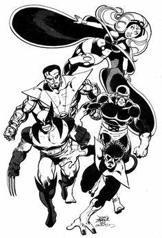 The Uncanny X-Men by John Byrne e Terry Austin