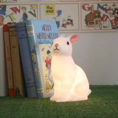 Woodland rabbit night light by Modern Vintage $24.00