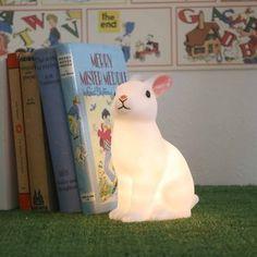 Woodland rabbit night light by Modern Vintage $24.00