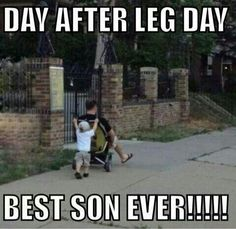 Kaden pushing Daddy around after leg day Workout Memes, Gym Memes, Gym Workouts, Funny Workout, After Leg Day, Bodybuilding Memes, Gym Humour, Exercise Humor, Fitness Quotes