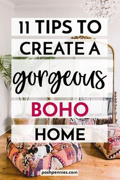 Want to know how to create the boho home of your dreams? Check out these 11 tips that will set you on the right bohemian track ;) make sure to pin this for later! Bohemian Style Rooms, Bohemian House, Bohemian Look, Boho Diy, Bohemian Apartment, Bohemian Design, Dream Apartment, Boho Style, Hippy Room