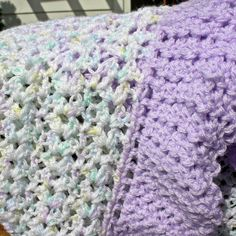 Free Crochet Baby Blanket Patterns | Baby's First Blanket Afghan Pattern | Free Crochet Patterns