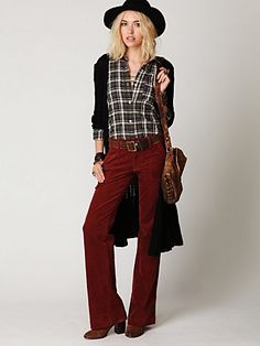 make 'em skinny cords and i would rock this entire outfit.