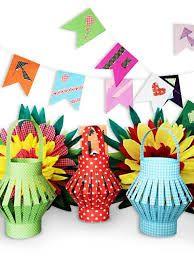Resultado de imagem para manjericos feltro Baby Crafts, Diy And Crafts, Crafts For Kids, Arts And Crafts, Paper Crafts, Diy Paper, Origami Lantern, Ramadan Crafts, Creative Class