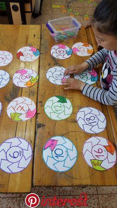Lock & Key Addition Puzzles for Kids - fun hands-on STEM math idea! Math Classroom, Kindergarten Math, Teaching Math, Math Math, Math For Kids, Puzzles For Kids, Kids Fun, Math Games, Preschool Activities