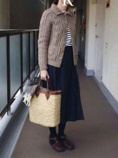 Mori Fashion, 60 Fashion, Japan Fashion, Minimal Fashion, Daily Fashion, Winter Fashion, Fashion Outfits, Womens Fashion, Fashion Trends