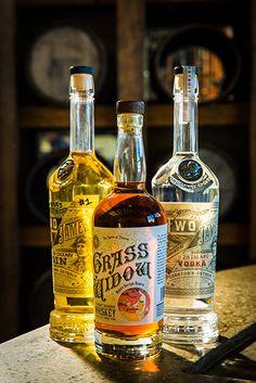 Bottle of Spirits from Two James Distillery | 2445 Michigan Avenue, Detroit | Corktown