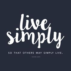 Awesome 'Live+Simply' design on TeePublic!