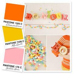 Orange Mustard and Pink Color Palette | Sarah Hearts