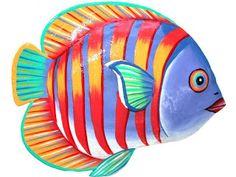 dibujos de peces para imprimir                              …