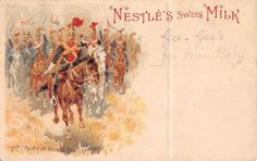 POSTCARD MILITARY (Nestle's Swiss Milk) 12th Prince of Wales Royal Lancers | eBay