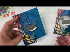 Card Making Tutorials, Making Ideas, Video Tutorials, Fancy Fold Cards, Folded Cards, Pop Up Cards, Cool Cards, Swing Card, Spinner Card