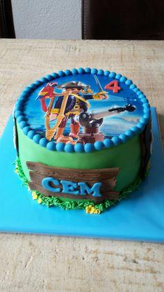 Playmobile taart