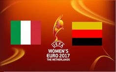 Portail des Frequences des chaines: Germany vs Italy  - UEFA Women's Championship