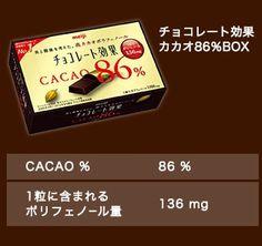 チョコレート効果カカオ86%BOX
