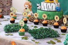 Cupcakes Festa Safari do Miguel Safari Theme Birthday, Cupcakes, Jar, Table Decorations, Babyshower, Image, Ideas, Mini Party Sandwiches, Industrial Kids Decor