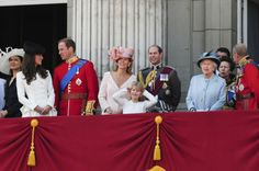 royal family balcony party