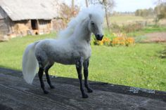 This listing is for custom needle felted pet portrait horse. The horse is felted using Needle Felting technique with attention to the details