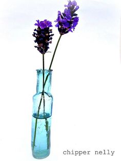 Lavender In A Wonky Bottle